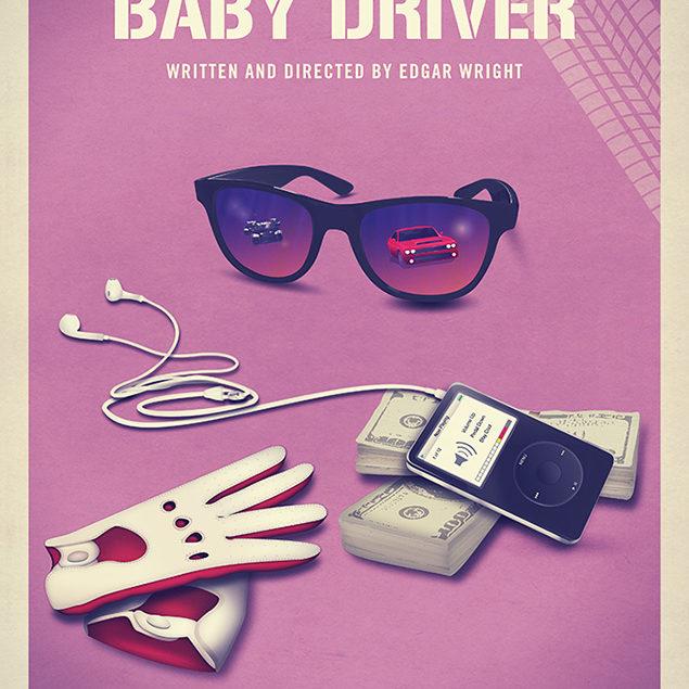 Baby Driver alternate movie poster.