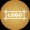 Branding icon.